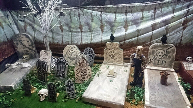 Halloween Decor & Props for Hire. We can do large parties and Corporate setups
