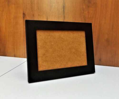 """Black Brushed Effect 7 x 5/""""//5 x 7/"""" Photo//Picture Frames Will stand or wall hang"""
