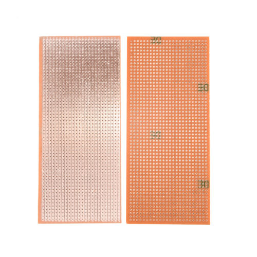 Neue 5 Stripboard Veroboard Uncut PCB Platine Single Side Circuit Perf Board