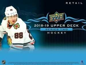 2018-19 UPPER DECK SERIES 2 HOCKEY NHL RETAIL BOX