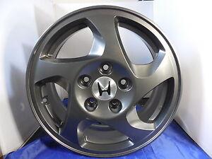 "Honda Accord Factory Rims >> OEM HONDA Prelude WHEELS RIMS 16"" 1997 1998 1999 2000 2001 Factory SET(4) 63978 | eBay"