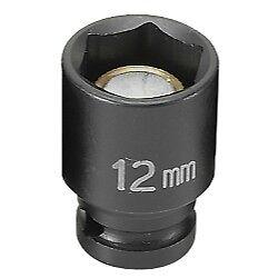 SOC 12MM 1//4D IMP MAG 6PT BLK 912MG