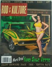 Traditional Rod & Kulture Winter 2015 Yard Sale Vette Hot Rods FREE SHIPPING sb