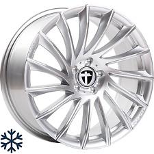 """4x Tomason TN16 8,5x19"""" 5x120 ET35 ML72,6 bright silver BMW Opel MINI Saab Tesla"""