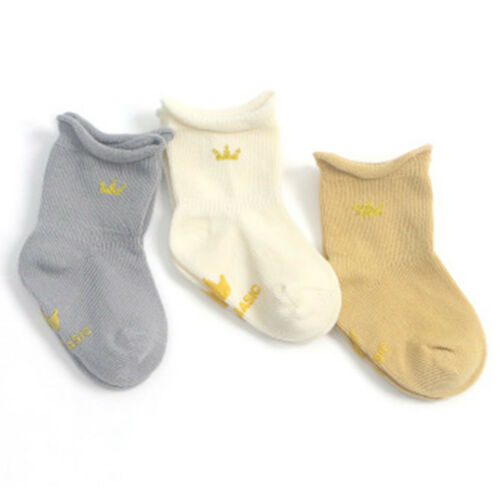 Baby Anti-Slip Socks Cartoon Pure Cotton Baby Socks Infant Warm Boy Girl Socks