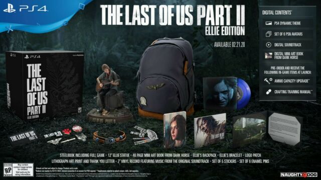 The Last of Us Part II -- Ellie Edition (Sony PlayStation 4, 2020) Sealed