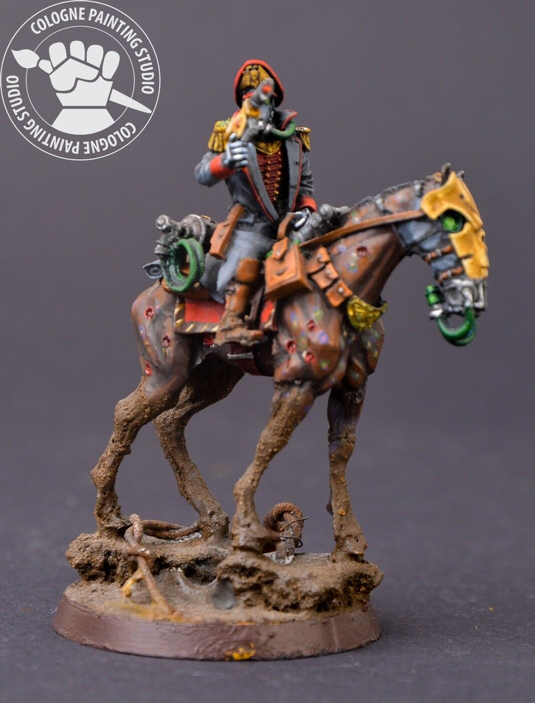 Warhammer 40k. Imperium. Death Korps Korps Korps of Krieg Rider Commissar 604273