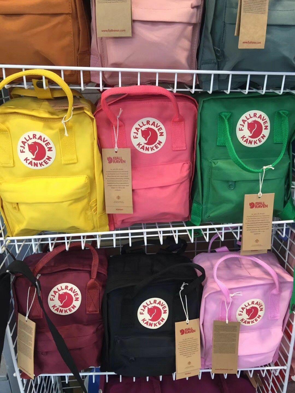 New Fjällräven Kanken Rucksack Schule Sport Freizeit Trend Tasche Backpack DE 3