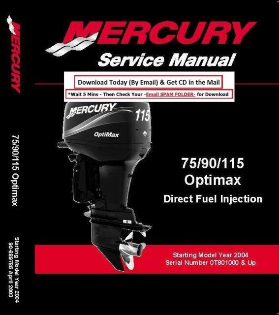 2004 2005 2006 Mercury Optimax Service Repair Manual 75 90