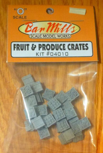 Bar Mills #04018 MEDIUM CRATE ASSORTMENT O Scale NEW 4018 ...