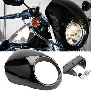 Scheinwerfer-Verkleidung-Lampenmaske-Fuer-5-3-4-034-Scheinwerfer-Harley-Davidson