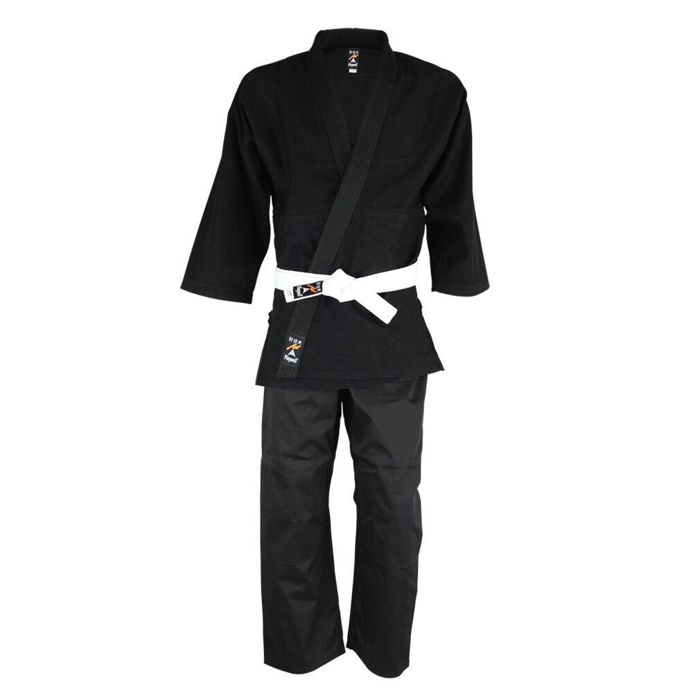 Playwell Judo Candeggiato schwarz Studenti Uniforme Adulti Tute Cotone Gis Kimono
