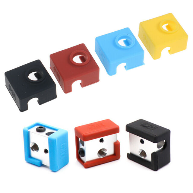 1PC 3D Printer Parts MK9 Protective Silicone Sock Cover Case For Heater Block UR