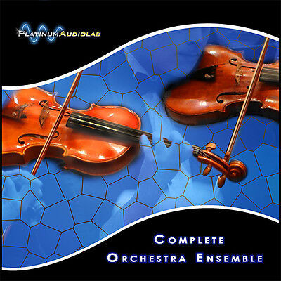 Orchestra Strings Woods Percussion Sample Library KONTAKT HALION REASON ABLETON