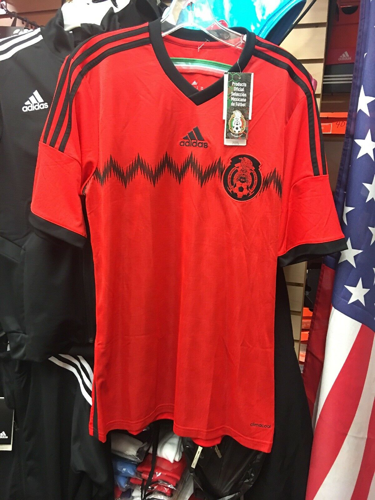 85beddcbe Adidas MEXICO Soccer Jersey Retro 2014 WORLD CUP JerseyMens Size M ...
