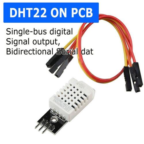 DHT22 AM2302 Digital Temperature /& Humidity Sensor Modle Excellent Stability