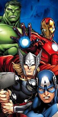 Marvel´s The Avengers Handtuch 70x140 Baumwolle Strandtuch Badehandtuch Badetuch