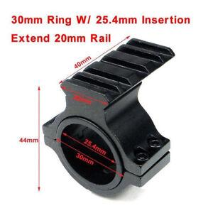Scope-Barrel-Mount-1-034-25mm-amp-30mm-Ring-Adapter-20mm-Weaver-Picatinny-Rail