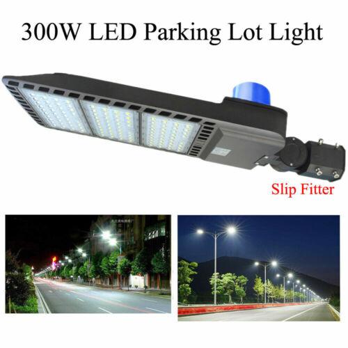 300W LED Parking Lot Light IP65 Waterproof with Photocell Sensor Shoebox Light