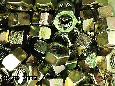 1//2-13 . Shipped USPS Priority Qty 100 Grade 8 Hex Nuts,Yellow Zinc Plated.