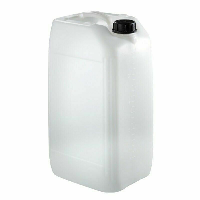 1 x 25 litre new plastic bottle jerry can water container carrier