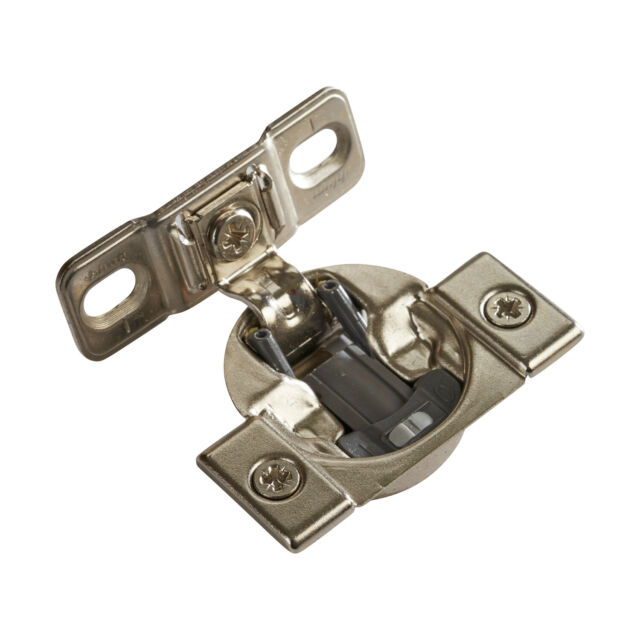 Overlay Face Frame Hinge Press in Soft Close 38B358BF22 20 Blum Compact 1-3//8/""