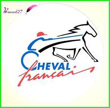 """Ancien Autocollant Sticker """" LE CHEVAL FRANCAIS """" Bleu Blanc Rouge Cheval Horse"""