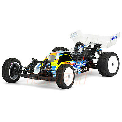 PRO-LINE Phantom 1:10 Buggy Clear Body For Team Associated RC10B5M Car #3429-00