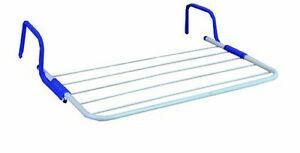 5 bar radiator airer drying rack laundry hanger clothes. Black Bedroom Furniture Sets. Home Design Ideas