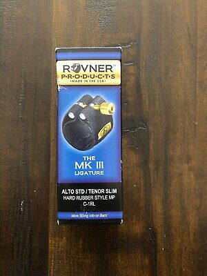 Rovner MKIII C-1R Bb Clarinet Ligature Fits Hard Rubber and Plastic Mouthpieces