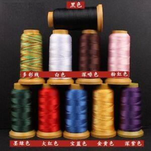 33-Color-0-2-1-6mm-Nylon-Cord-Sewing-Thread-Rope-Silk-Beading-String-Jewelry