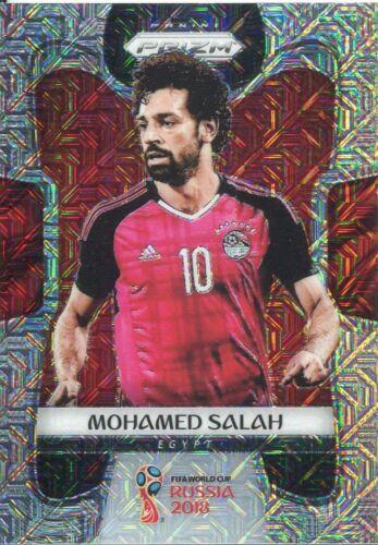 PRIZM WORLD CUP 2018 Mojo parallèle BASE CARD #54 MOHAMED SALAH-Egypte