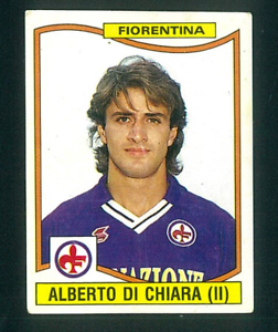 109 DI CHIARA FIORENTINA NUOVA//NEW N FIGURINA CALCIATORI PANINI 1990//91