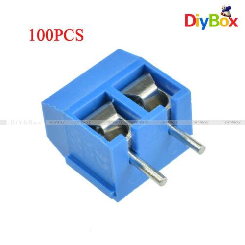 100PCS KF301-2P 5.08mm 2 Pin Connect Terminal Screw Terminal Connector