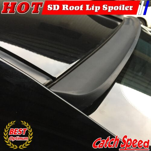 Flat Black SD Type Rear Window Roof Spoiler For Chrysler Crossfire Coupe 2003~08