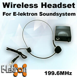 E-Lektron-199-6-197-15-VHF-Hand-Held-Headset-Microphone-for-PA-Portable-Speaker