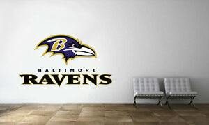 Image is loading Baltimore-Ravens-Logo-Wall-Decal-NFL-Football-Decor- : baltimore ravens wall decals - www.pureclipart.com