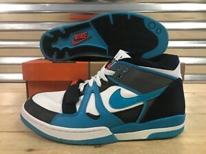 competitive price 1e14d 8d56c Image is loading Nike-Air-Alpha-Force-II-Shoes-Blue-Reef-
