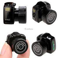 Hidden Pinhole Web cam Camcorder Video Smallest Mini Camera Recorder DVR Spy New