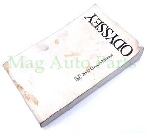 manual de usuario honda odyssey 2000 en español