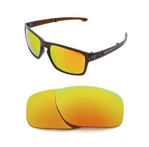 16934461ad NEW POLARIZED FIRE RED REPLACEMENT LENS FOR OAKLEY SLIVER SUNGLASSES ...