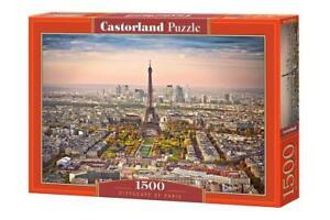 Castorland 1500 Piece Jigsaw Puzzle CITYSCAPE OF PARIS