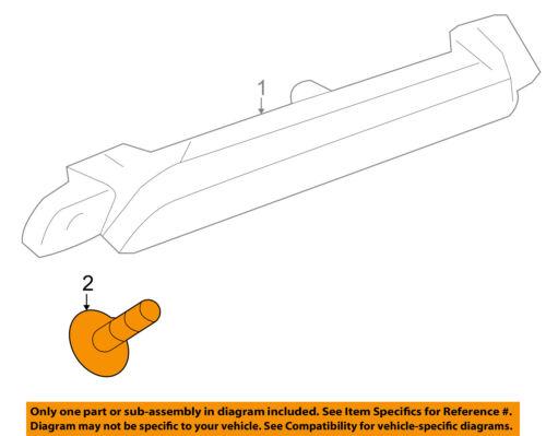 GM OEM Interior-Upper Center Pillar Trim Screw 11611881
