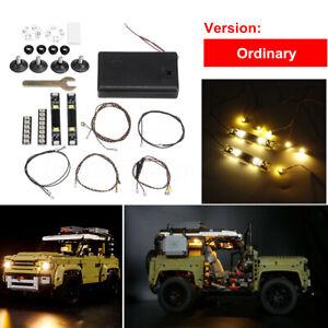 ONLY-LED-Light-Lighting-Kit-For-LEGO-42110-Technic-Land-Rover-Defender-Car-g