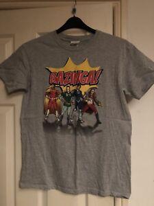 La imagen se está cargando Bazinga-Big-Bang-Theory-Camiseta-Talla-Mediana c863b8a1e5a