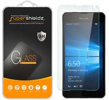 2X Supershieldz Tempered Glass Screen Protector Saver For Microsoft Lumia 650