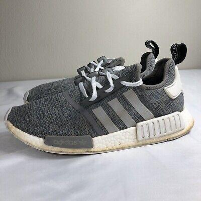 online retailer d089a bc678 Adidas NMD Boost Glitch Grey Men's 11 Primeknit Running Trainer Yeezy EQT |  eBay