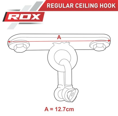 RDX Punching Bag Ceiling Hook With Chains Swivel,Steel Wall Bracket Boxing 4S US