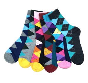 Mens-Happy-Socks-6-Pack-Diamond-Gems-Happy-Funky-Cool-Socks