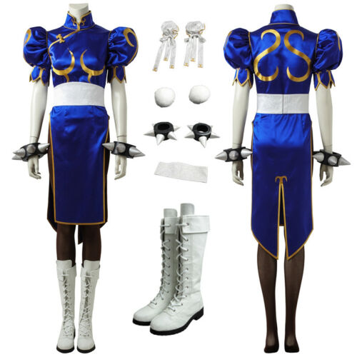 Street Fighter V Chun Li Cosplay Costume Custom Made